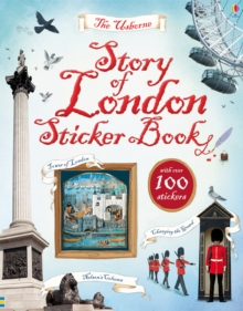Story of London Sticker Book, Paperback Book