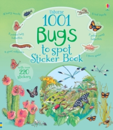 1001 Bugs to Spot Sticker Book, Paperback Book