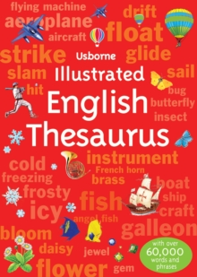 Illustrated English Thesaurus, Paperback Book