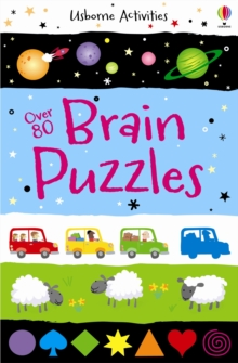 Over 80 Brain Puzzles, Paperback Book