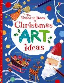 Christmas Art Ideas, Paperback Book