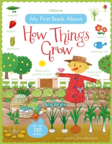 My First Book About How Things Grow, Paperback Book