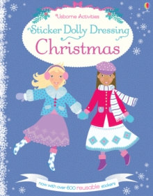 Sticker Dolly Dressing Christmas, Paperback Book