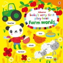 Baby's Very First Play Book Farm Words, Board book Book