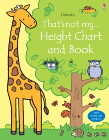 That's Not My Height Chart and Book, Fold-out book or chart Book
