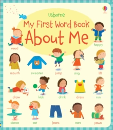My First Word Book About Me, Board book Book