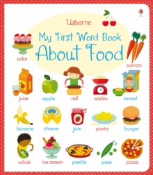 My First Word Book About Food, Board book Book