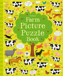 Farm Picture Puzzle Book, Hardback Book