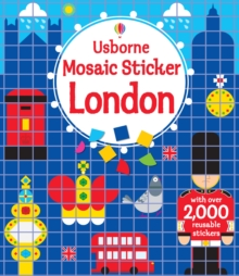 Mosaic Sticker London, Paperback Book