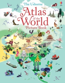 Atlas of the World Picture Book, Hardback Book
