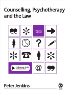 Counselling, Psychotherapy and the Law, Paperback Book