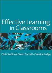 Effective Learning in Classrooms, Paperback Book