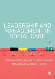 Leadership and Management in Social Care, Paperback / softback Book
