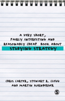 A Very Short, Fairly Interesting and Reasonably Cheap Book About Studying Strategy, Paperback Book