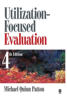 Utilization-Focused Evaluation, Paperback Book