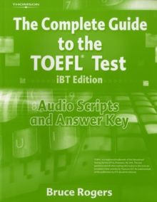 Complete Guide to TOEFL Audio Scripts with Answer Key, Paperback Book