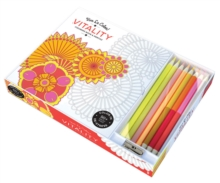Vitality ( Coloring Book and Pencils ) Color In; Vive Le Color, Multiple copy pack Book