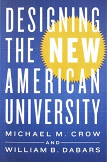 Designing the New American University, Paperback / softback Book