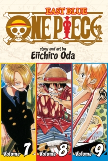 One Piece:  East Blue 7-8-9, Vol. 3 (Omnibus Edition), Paperback Book