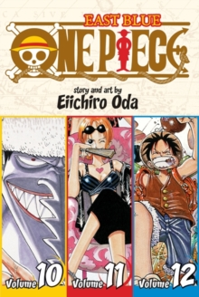 One Piece:  East Blue 10-11-12, Vol. 4 (Omnibus Edition), Paperback Book