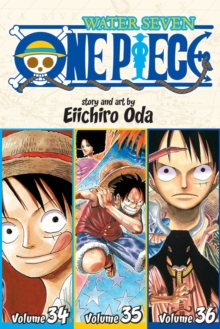One Piece: Water Seven 34-35-36, Vol. 12 (Omnibus Edition), Paperback / softback Book