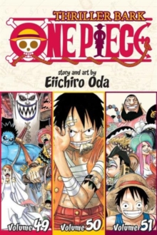 One Piece (Omnibus Edition), Vol. 17 : Thriller Bark, Includes vols. 49, 50 & 51, Paperback Book