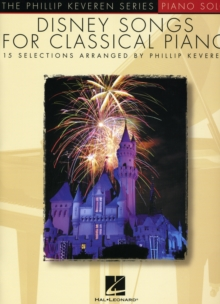 Disney Songs for Classical Piano, Paperback Book