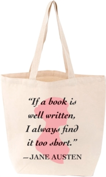 Lovelit Tote Jane Austen Quote, Other printed item Book