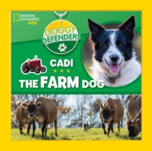 Doggy Defenders: Cadi the Farm Dog, Hardback Book