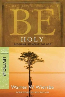 Be Holy, Paperback / softback Book
