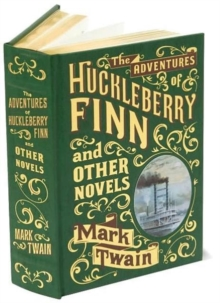 Adventures of Huckleberry Finn and Other Novels (Barnes & Noble Omnibus Leatherbound Classics), Leather / fine binding Book