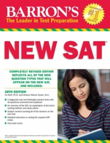 Barron's New SAT, 28th Edition, Paperback Book