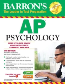 AP Psychology, Paperback Book