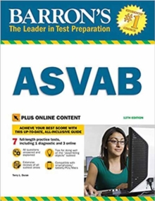Barron's ASVAB with Online Tests, Paperback / softback Book