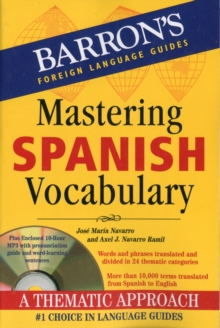 Mastering Spanish Vocabulary, Mixed media product Book