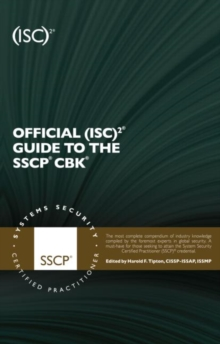 Official (ISC)2 Guide to the SSCP CBK, Hardback Book