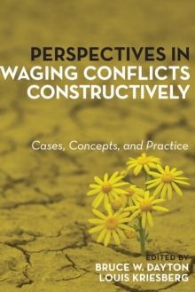 Perspectives in Waging Conflicts Constructively : Cases, Concepts, and Practice, Paperback / softback Book