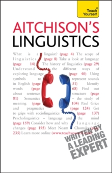 Aitchison's Linguistics : A practical introduction to contemporary linguistics, Paperback Book