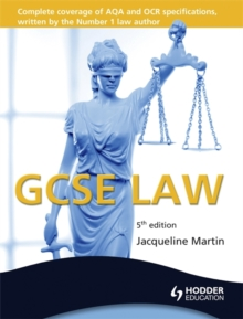 GCSE Law, 5th Edition, Paperback Book