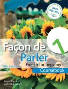 Facon de Parler 1 French for Beginners 5ED : Coursebook, Paperback Book