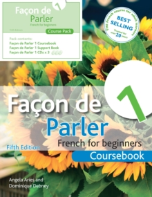 Facon de Parler 1 French for Beginners 5ED : Course Pack, Mixed media product Book