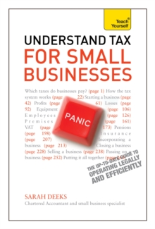 Understand Tax for Small Businesses: Teach Yourself, Paperback Book