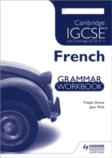 Cambridge IGCSE and Cambridge IGCSE (9-1) French Grammar Workbook, Paperback Book