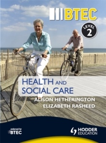 BTEC First Health and Social Care Level 2, Paperback Book