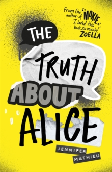 The Truth About Alice, Paperback Book