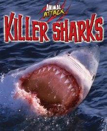 Animal Attack: Killer Sharks, Paperback Book