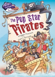 Race Further with Reading: The Pop Star Pirates, Paperback Book