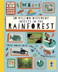 The Big Countdown: 30 Million Different Insects in the Rainforest, Paperback Book