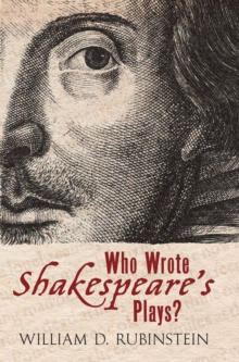 Who Wrote Shakespeare's Plays?, Hardback Book