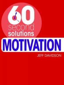 Motivation, Paperback Book